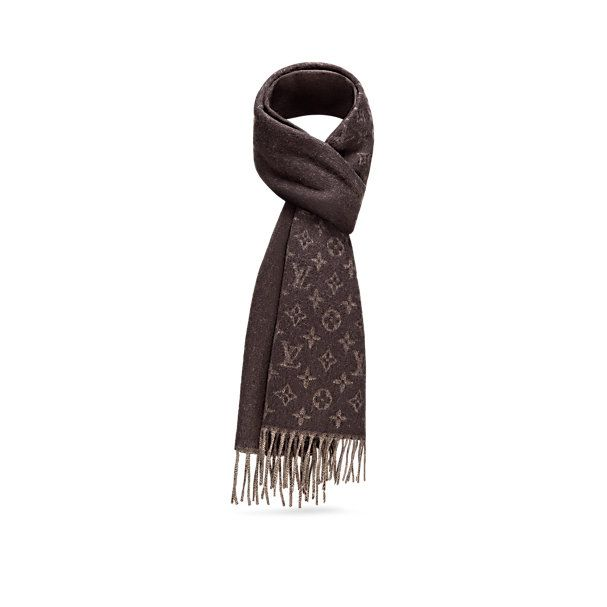 Cultures Hommes: Echarpe Louis Vuitton Monogram Dégradé