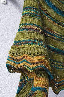 Hot on ravelry ...the Gravity Shawl -- Free knitting pattern #knit