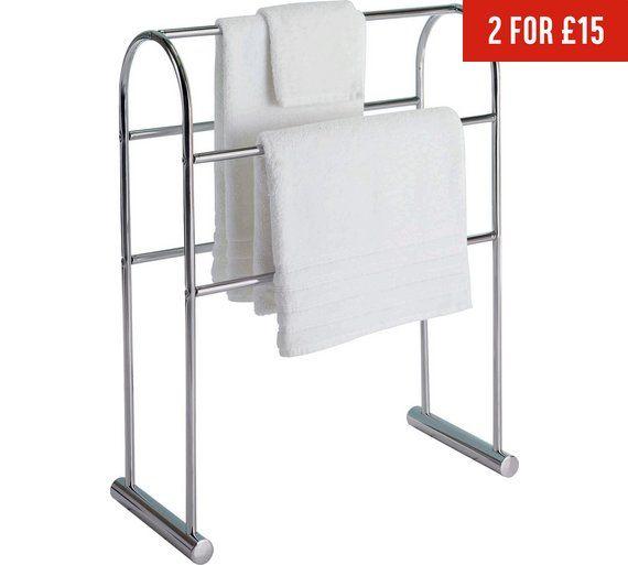 22 best over the door towel rack images on pinterest for Bathroom accessories argos