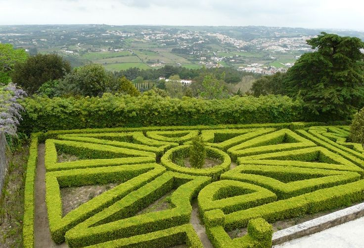 parc d'un château à Sintra - Blog Voyage Trace Ta Route  www.trace-ta-route.com  http://www.trace-ta-route.com/week-end-lisbonne-sintra/  #portugal #sintra #garden #jardins