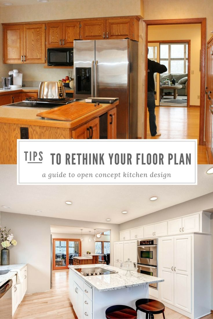 Mid century modern transitional kitchen atlanta by beauti faux - 6 Tips On Rethinking The Floor Plan