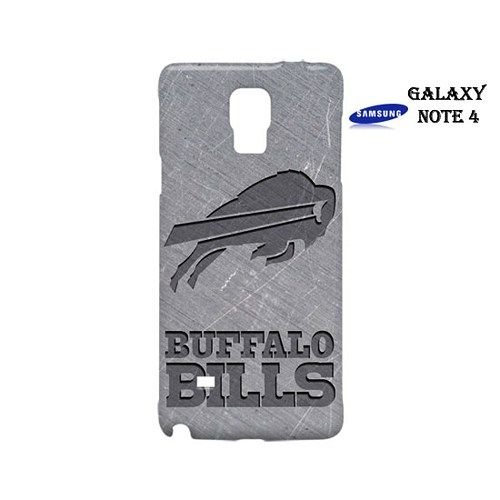 Buffalo Bills Style Metal Case for Samsung Galaxy Note 4