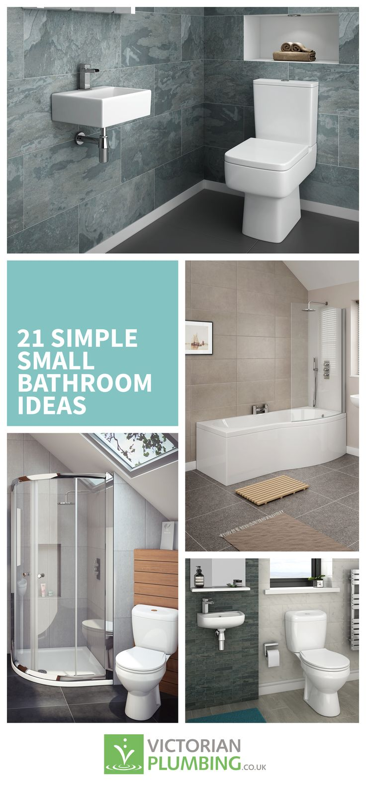 55 best Small Bathrooms images on Pinterest | Bathroom ideas ...
