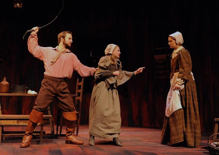 crucible guys Important role in miller's powerful play the crucible, unlike joe keller and   one-dimensional good guy, proctor is enough a product of his society to think of.