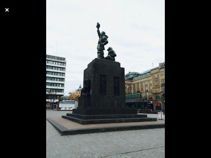 Suomen Vapaudenpatsaan 1938