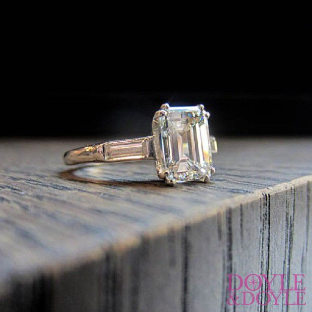 1000+ Ideas About Emerald Cut Diamonds On Pinterest