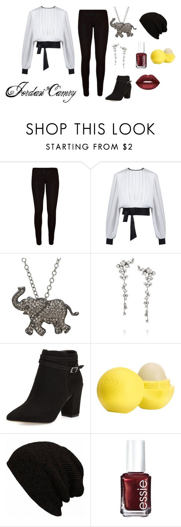 """""""Jordan Camry (Outfit 1)"""" by panda-girl01 on Polyvore featuring Animal Planet, Ryan Storer, Steven by Steve Madden, Eos, Essie and Lime Crime"""