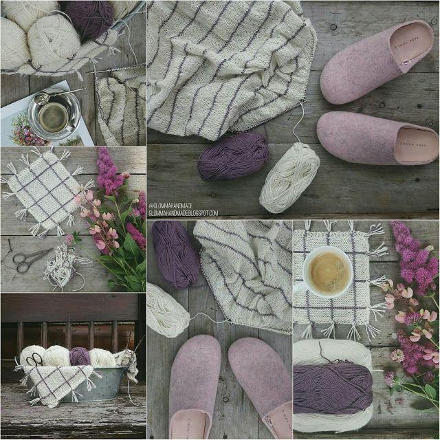 Glomma Handmade: Клетчатое три