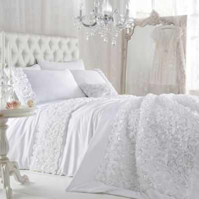 Star by Julien Macdonald White 'Antoinette' bed linen- at Debenhams.com