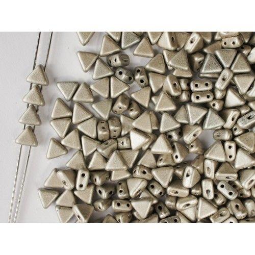 http://www.scarabeads.com/Glass-BEADS/Kheops-par-Puca/Metallic-Mat/50pcs-Kheops-par-Puca-6mm-2-hole-Czech-Glass-Pressed-Beads-Metallic-Mat-Beige