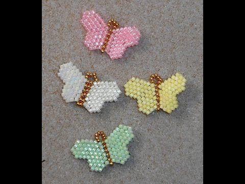 Tiny Beaded Butterflies