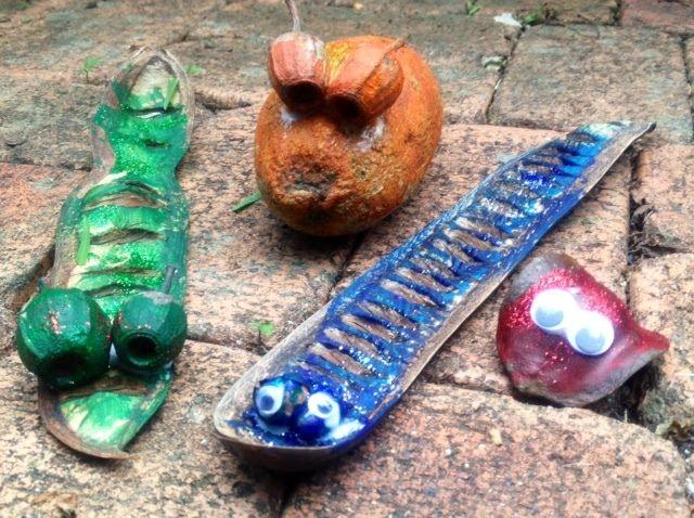 Jacaranda Seed Pod Craft