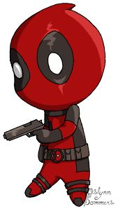 Image result for cute deadpool