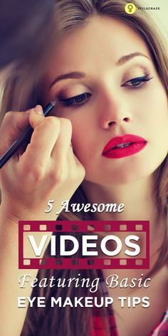 5 Awesome Videos Fea Makeup Pinterest Eye Makeup Tips Makeup