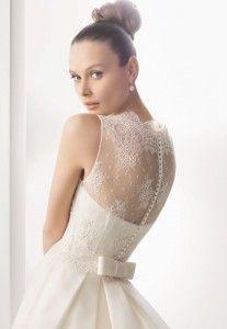petite vestiti da sposa ricama e elegante