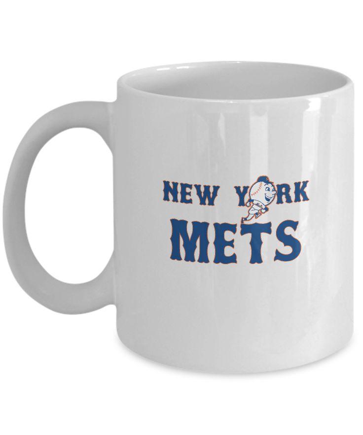 New York Baseball Mascot Coffee Mug