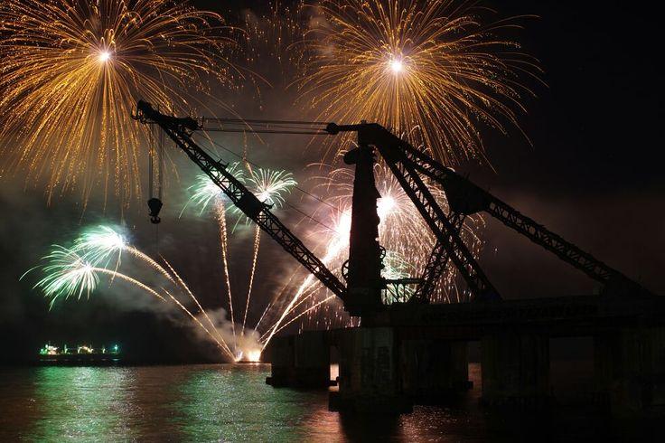 Año Nuevo en Viña del Mar, Chile