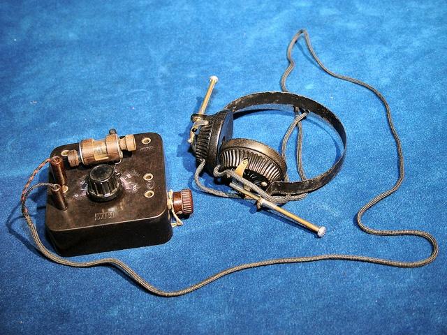 Photo Radio Romania Coach swagger bag, Old radios