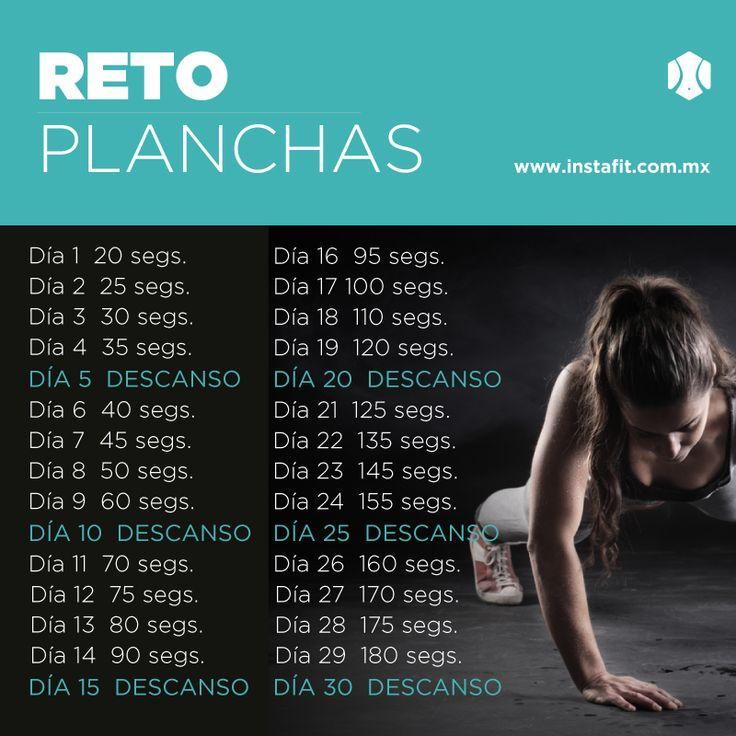 Retos de un ejercicio por 30 días | blog de InstaFit Mexico