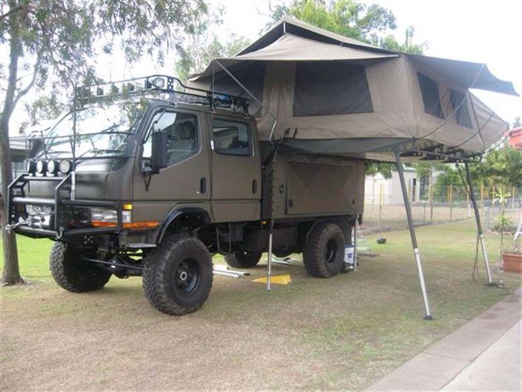 Mitsubishi Fuso 4x4... My RV! | camping | Pinterest | 4x4