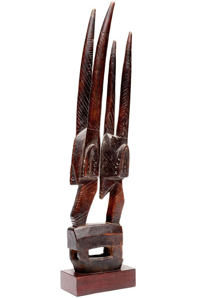 A Bamana headdress Wood - 50,5 cm Mali
