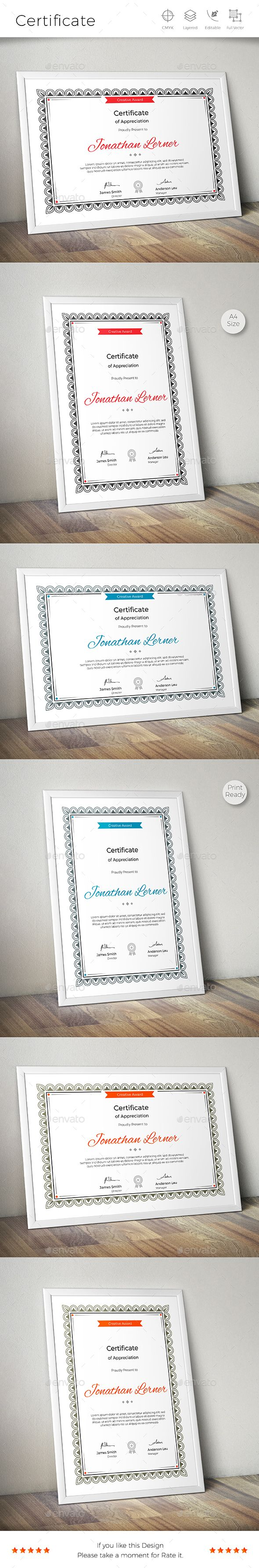 60 best 证书 images on Pinterest | Certificate templates ...