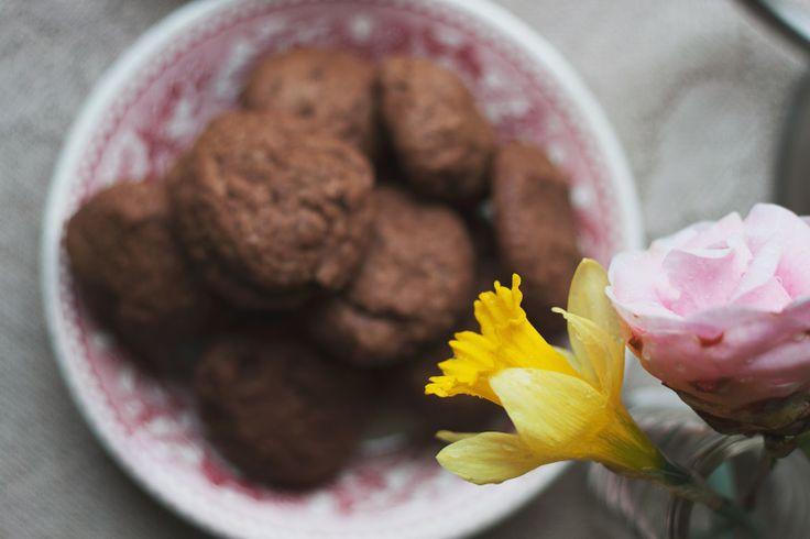 NUSSBAUM BUTTER COOKIES KAKAO (milchfrei) Walnuss-Butter Kakao Cookies (milchfrei)