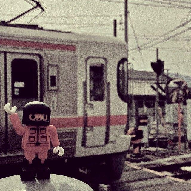 #photo #iPhone5 #diablock  #block  #ダイヤブロック #ブロック #train #電車 #JR飯田線