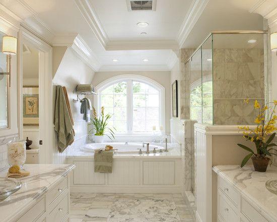 Traditional Master Bathroom Decorating Ideas