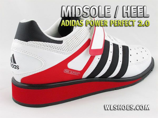 Another view of the midsole and heel on the