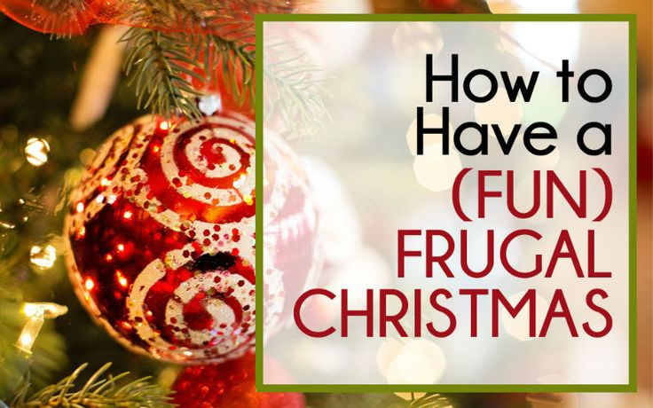 A frugal Christmas doesn't mean a bad Christmas... we all face years where spending what we normally would isn't an option, but that's ok!