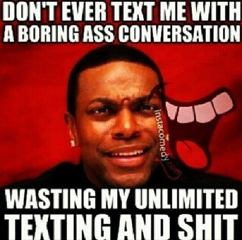Things To Talk About When The Conversation Gets Boring