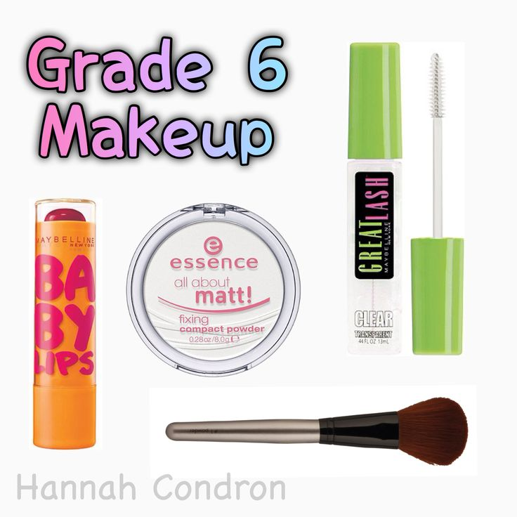 Grade 6 Middle school makeup for Tweens