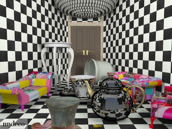 Alice In Wonderland Bedroom - Google Search