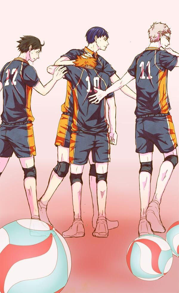 """We got your back, Hinata!"""