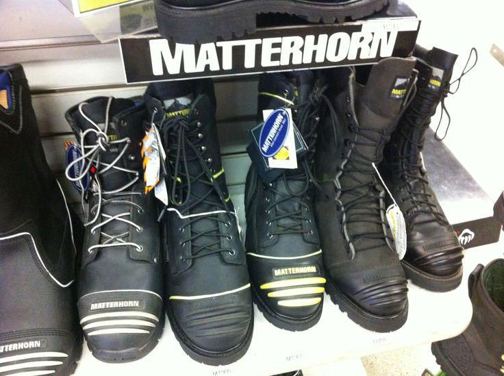 #Matterhorn Boot display at our Bridgeport OH Location #Coalmining