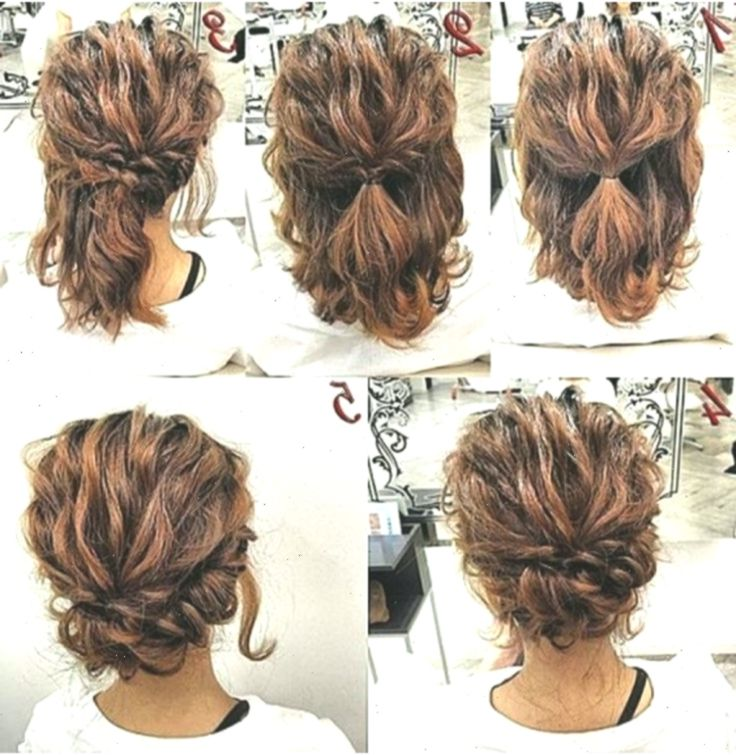Curly Hairstyles 2019 30 Styles For Short Medium And Long Hair Curly Curlyhairstylesf Curlyh In 2020 Short Hair Tutorial Short Hair Updo Easy Updo Hairstyles
