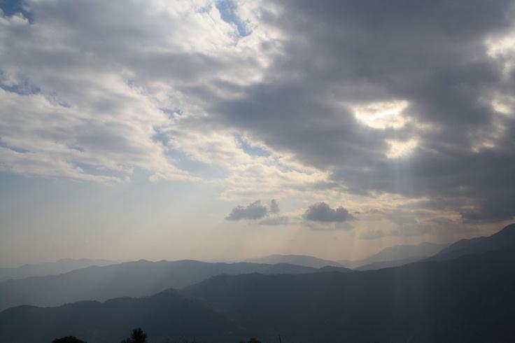 Above Pokhara, Nepal