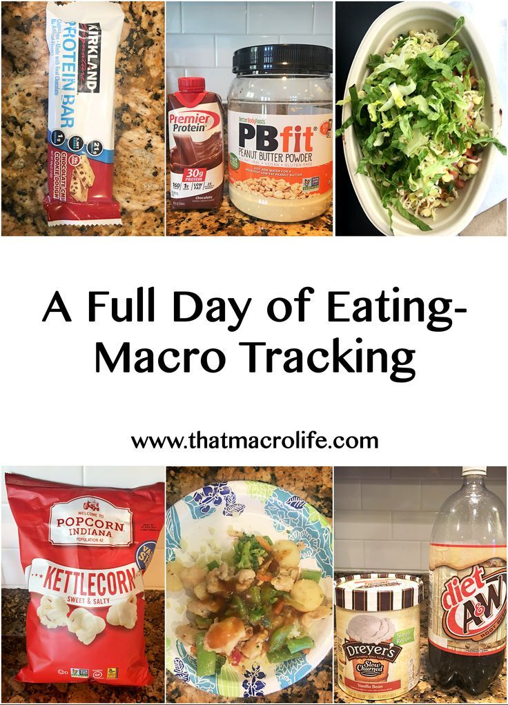 A full day of eating while tracking macros | Flexible Dieting | IIFYM | Lose fat while still eating foods you love www.thatmacrolife.com