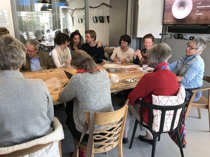 Evita Lokaal, een prettig buurtcentrum voor ontmoeting en diepgravende gesprekken. @Transmuralezorg