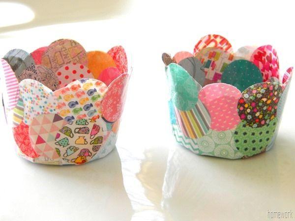 DIY paper mache confetti bowl !