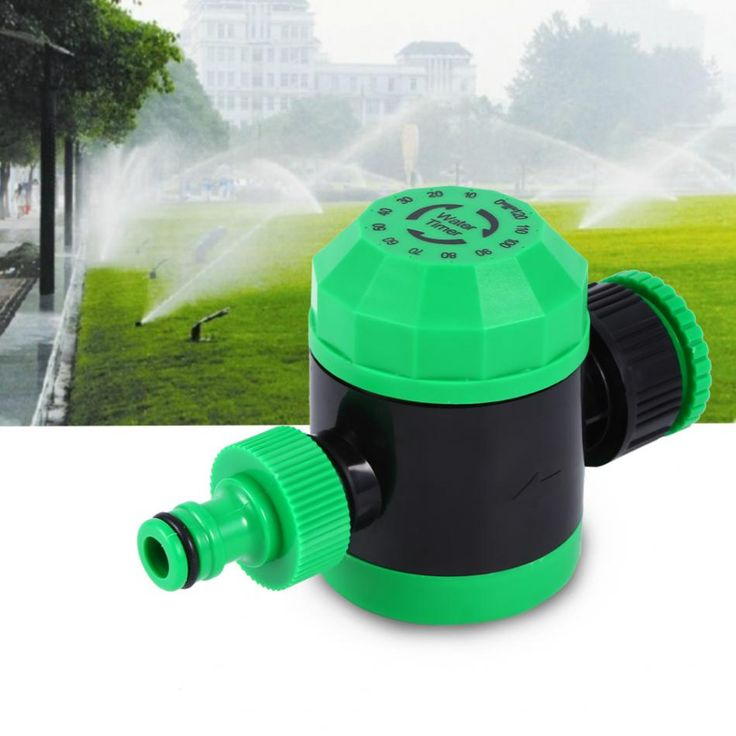 Waterproof Home 2 Hours Automatic Mechanical Electronic Water Timer Hose Sprinkler Irrigation Controller For Garden Watering