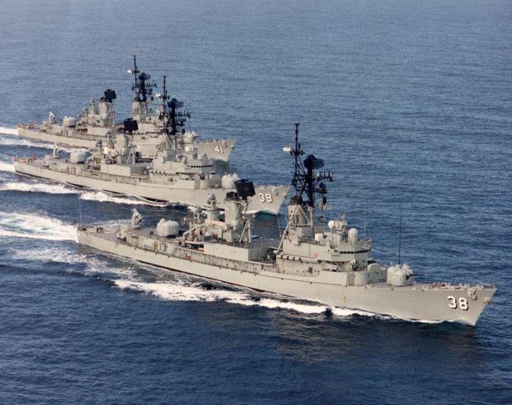 HMAS Perth, HMAS Hobart, HMAS Brisbane