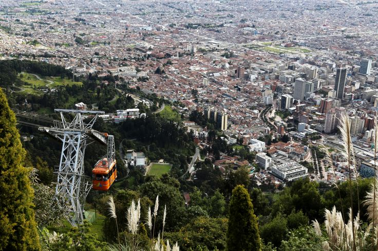 Monserrate and the city