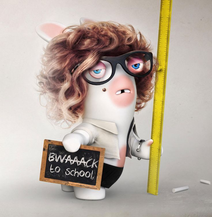 If a Rabbid were your teacher, it would look like this #backtoschool