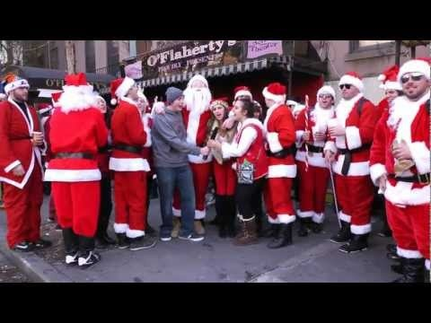 SantaCon NYC 2012 (interview montage)