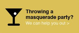 Beautiful Décor Ideas for Your Masquerade Ball: The Ceiling | VIVO Masks