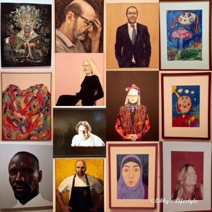 The Archibald Prize 2016: Come with my friend and me for a day out in town.