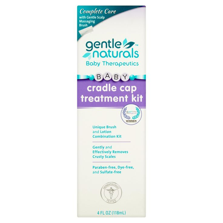 Gentle Naturals Baby Cradle Cap Treatment, 4 oz