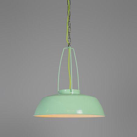 Pendelleuchte Usine Grün #Lampe #Innenbeleuchtung #Pendelleuchte